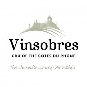 Vinsobres logo in brown
